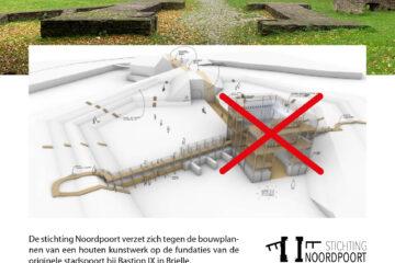 Stichting Noordpoort flyer teken de petitie